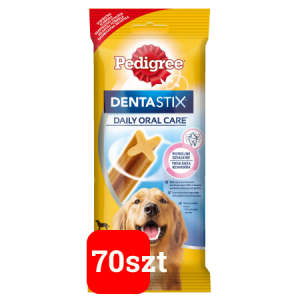 Pedigree DentaStix - duże rasy - 70szt