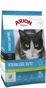 Arion Original Cat Sterilised Chicken 2kg