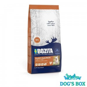 Bozita Puppy & Junior WHEAT FREE 2kg