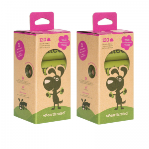 Earth rated Poop Bags woreczki lawendowe 240 szt