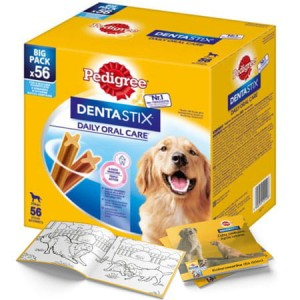 Pedigree DentaStix - duże rasy - 56szt