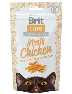 Brit Care Cat Snack - meaty chicken 50g