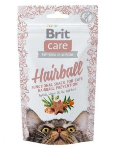 Brit Care Cat Snack - hairball 50g