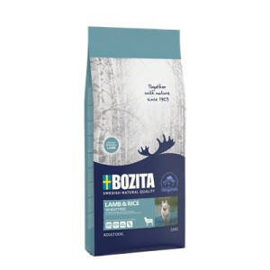 Bozita Lamb & Rice WHEAT FREE 12kg