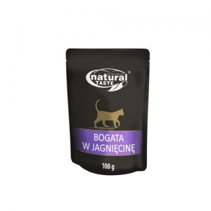 Dolina Noteci Natural Taste Cat 100g - jagnięcina